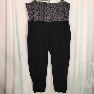 Threads 4 Thought Black Jogger Legging Size L